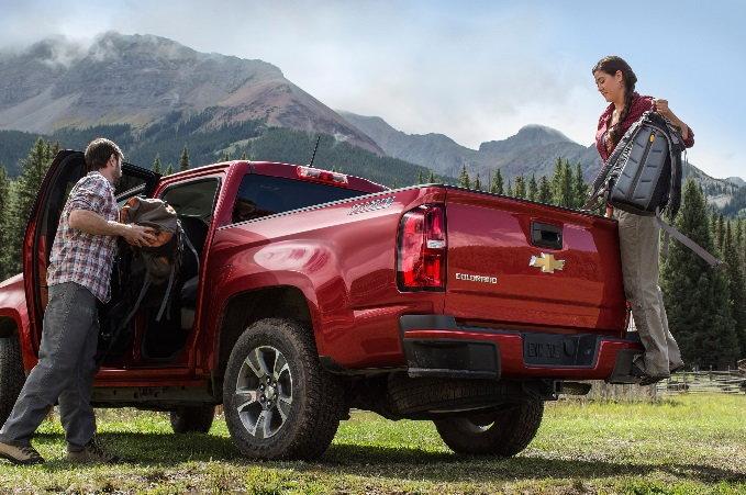 2015 Chevrolet Colorado Liftgate