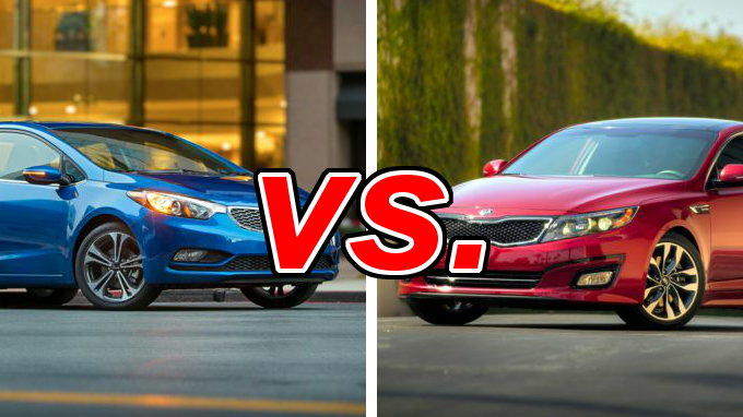 kia forte vs kia optima carsdirect. Black Bedroom Furniture Sets. Home Design Ideas