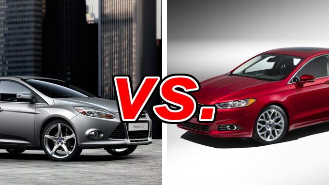 Ford Focus vs. Ford Fusion - CarsDirect