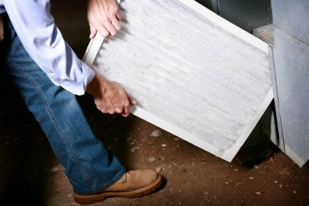 how to change air filter carrier weathermaker 9200