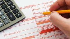 A 1099 tax form.