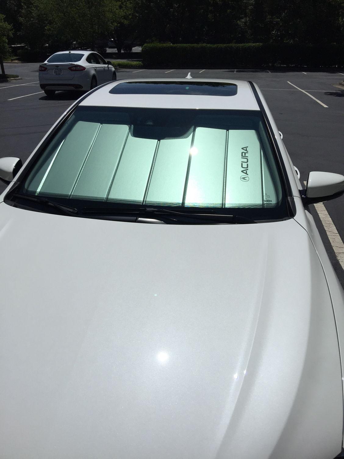 Oem Acura Front Windshield Sun Shade Acurazine Acura