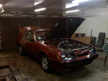 Project 1985 Mustang Coupe