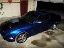 Fridge's Mustang