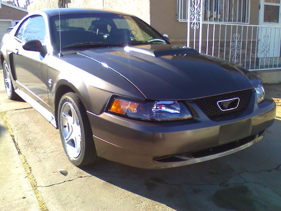 mach 1 hood with gt hood scoop