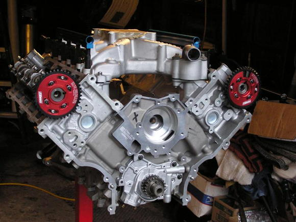 99 GT 4.6 Stroked to 302 Billet Steel Crank Forged Pistons  H-Beam Rods .