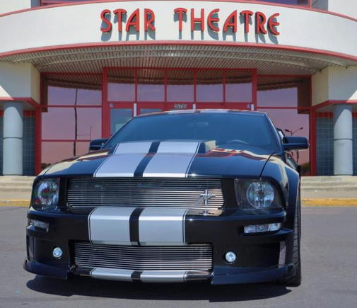 Yup the car is the Star!