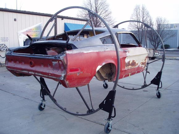 P1010003 68 Shelby undergoing restoration