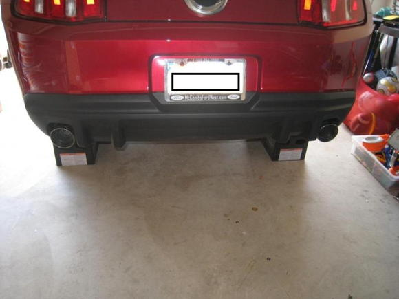 After Exhaust and Roush Rear Valance