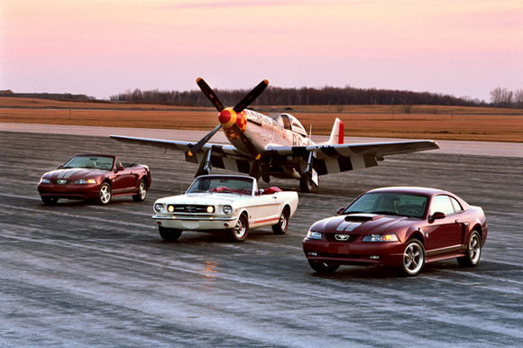 Mustang Generations