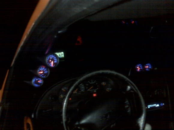 glow shift gauges