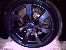 Ted Otsuji (O2G)--Black + OEM GT-R 20in Carbon Fiber Wheels--2004 350Z Roadster
