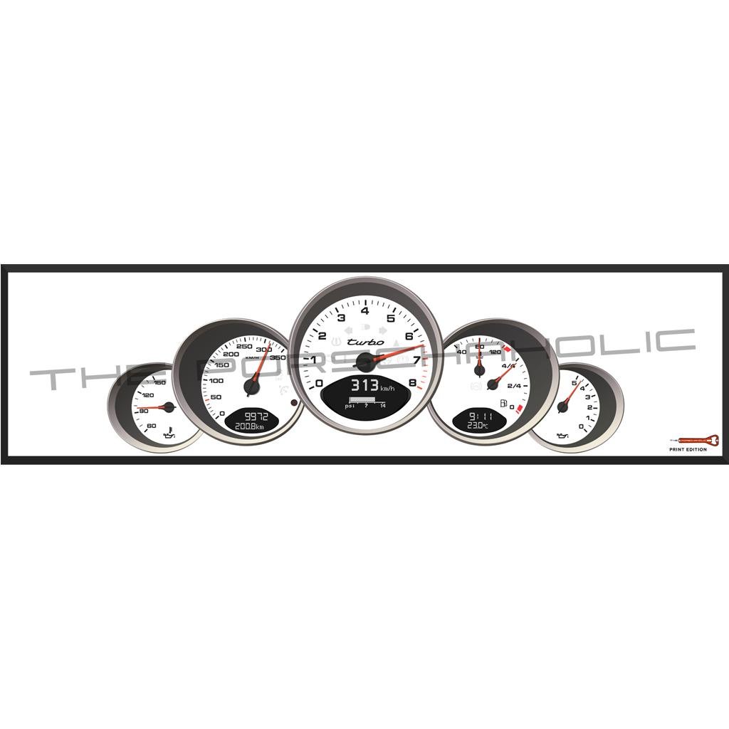 porsche 911 dials artwork
