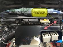 AC clutch fuse box