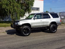 My other truck Toyota 4Runner 1999
