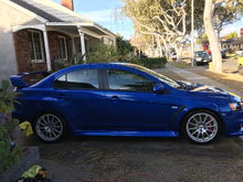 """2010 Mitsubishi Evo X - ETS Quiet Exhaust, ETS Upper/Lower IC Pipes, ETS 4"""" IC, Cosworth Drop-In Filter, Perrin Turbo Inlet, KWv3 Coilovers, Whiteline Sway Bars, Tuned By RRE"""