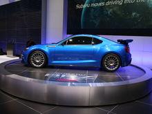 Subaru BRZ Concept STI side
