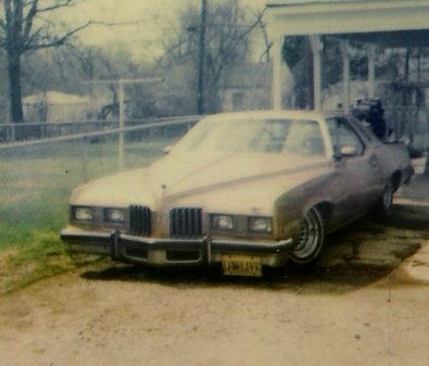 my very first lowrider..1977 grand prix