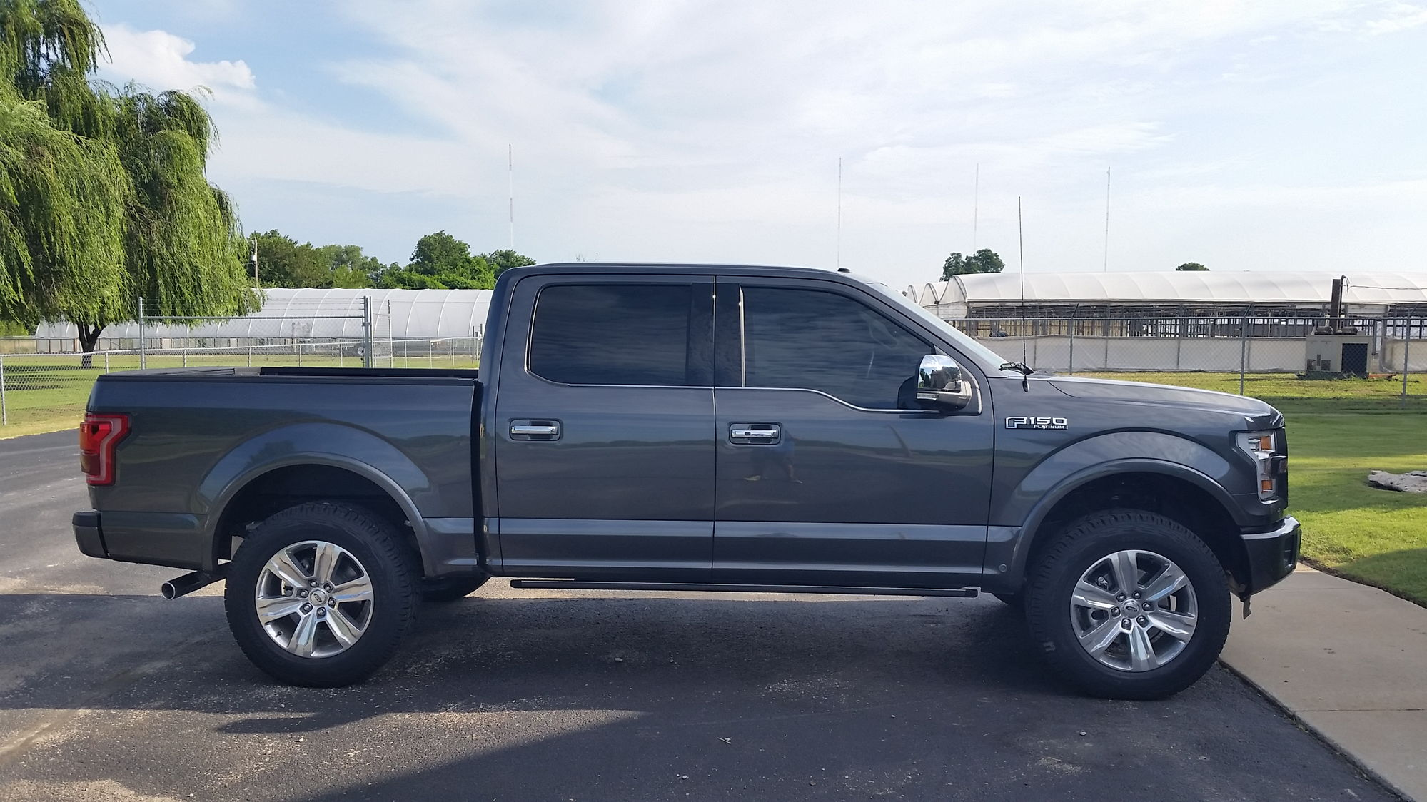 Leveled Platinum Pics and Block question? - Ford F150 ...