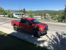 """6"""" BDS lift with coilers, Fox Shocks, 20"""" Fuel wheels, 325/65R20 BFG A/T KO2 tires (and tonneau cover)"""