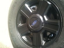plasti dipping the rims