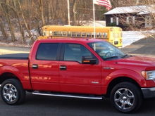 Stock truck. Took delivery on 12-12-2013