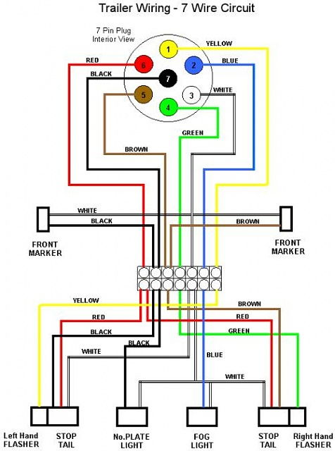 wiring diagram for pin trailer connector the wiring diagram 4 pin trailer wiring diagram nilza wiring diagram