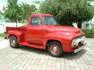 Garage - '54 Red Truck