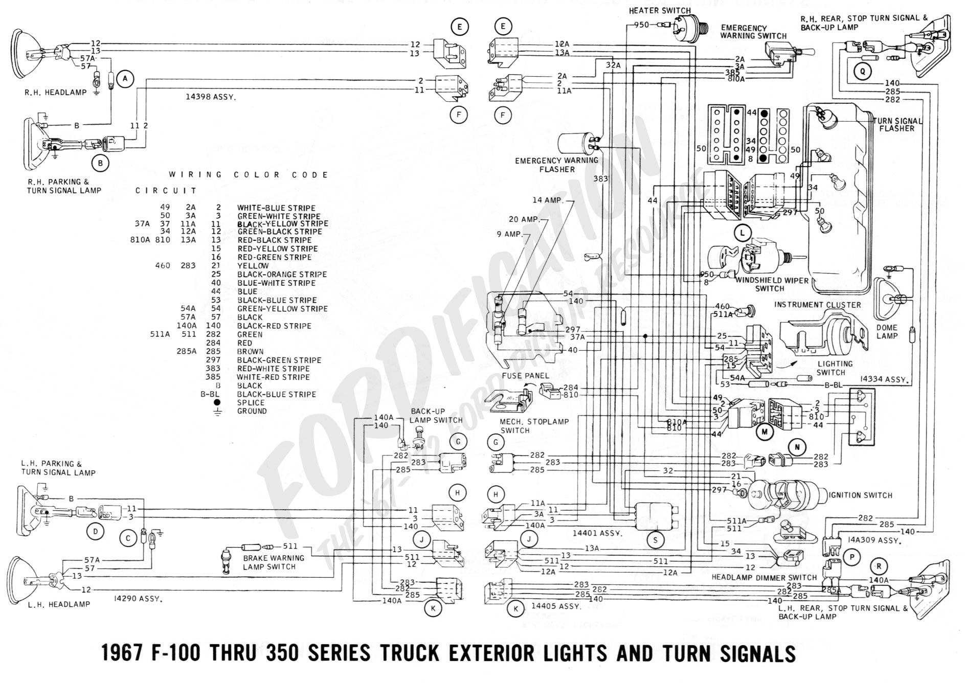 80 wiring_1967extlights02_d29b57c9dc89e064381e9d66fb89835ca3405bcc diagrams 12511637 ford falcon wiring diagram 63 falcon wiring 1963 ford falcon wiring harness at gsmx.co