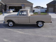 1966 Ford F-100 shorty