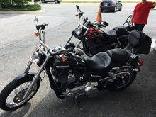 "Wife's bike ""Black Betty"" Bam-A-Lam"