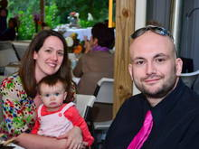 Myself, Maggie and Jeff at a wedding