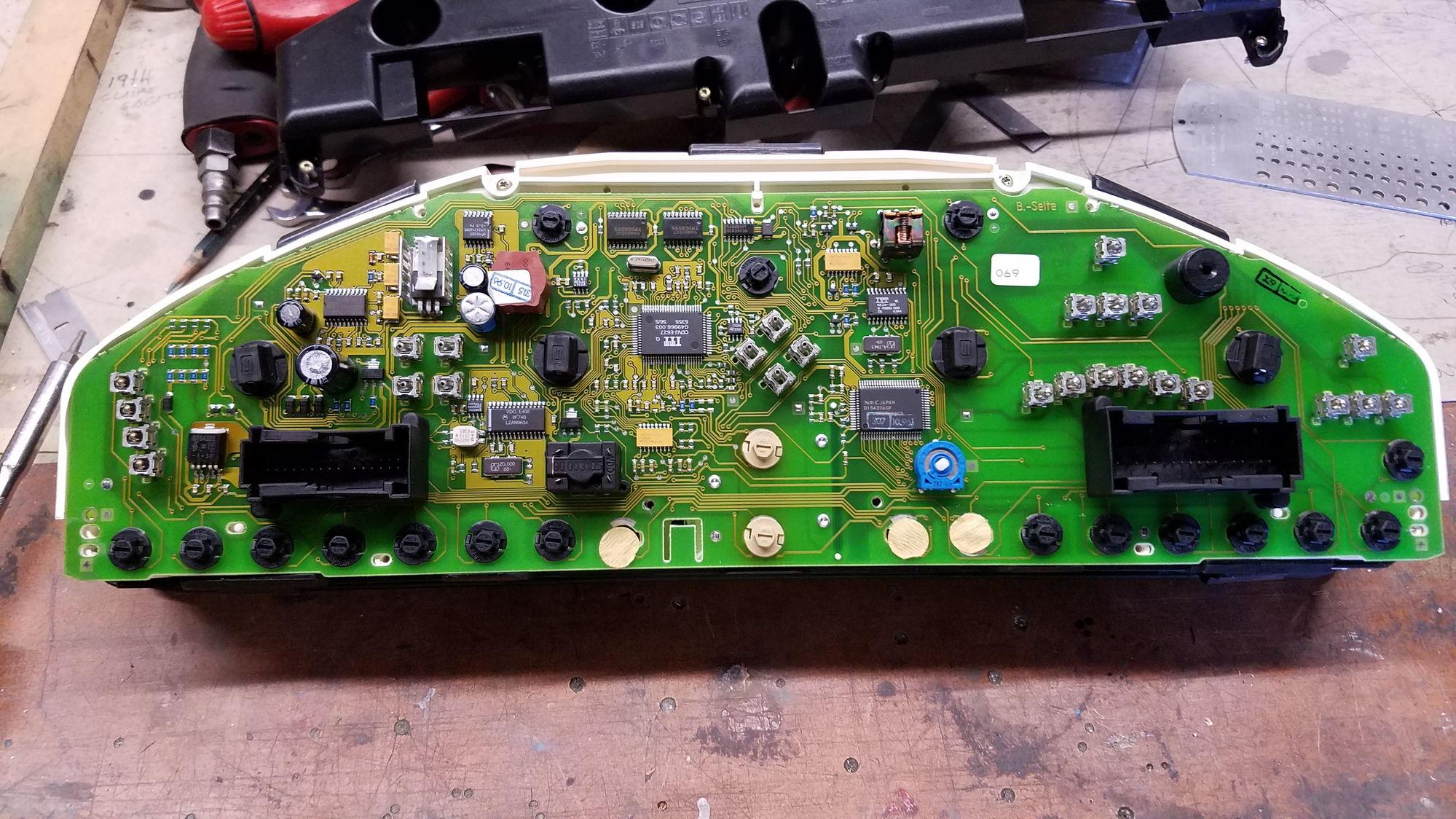 Mercedes W140 Dashboard Light Fail  S