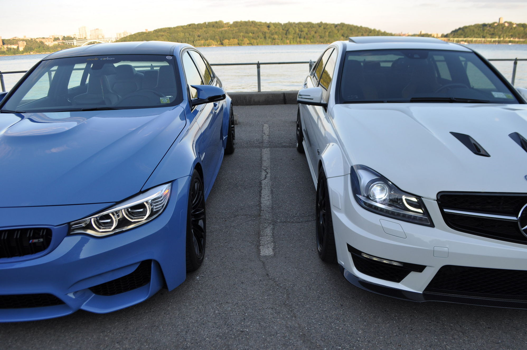 W205 C63s Vs W204 C63 Review By Mode Carbon Mbworld Org