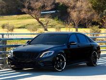 "2014 S550 20"" Invictus-Z Lexani Wheels"