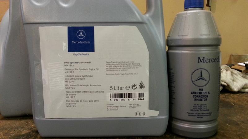 Mercedes Benz Approved Antifreeze