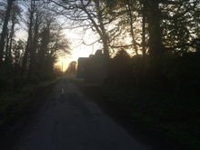 Towards the Priory.