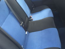 Front and rear seats £300
