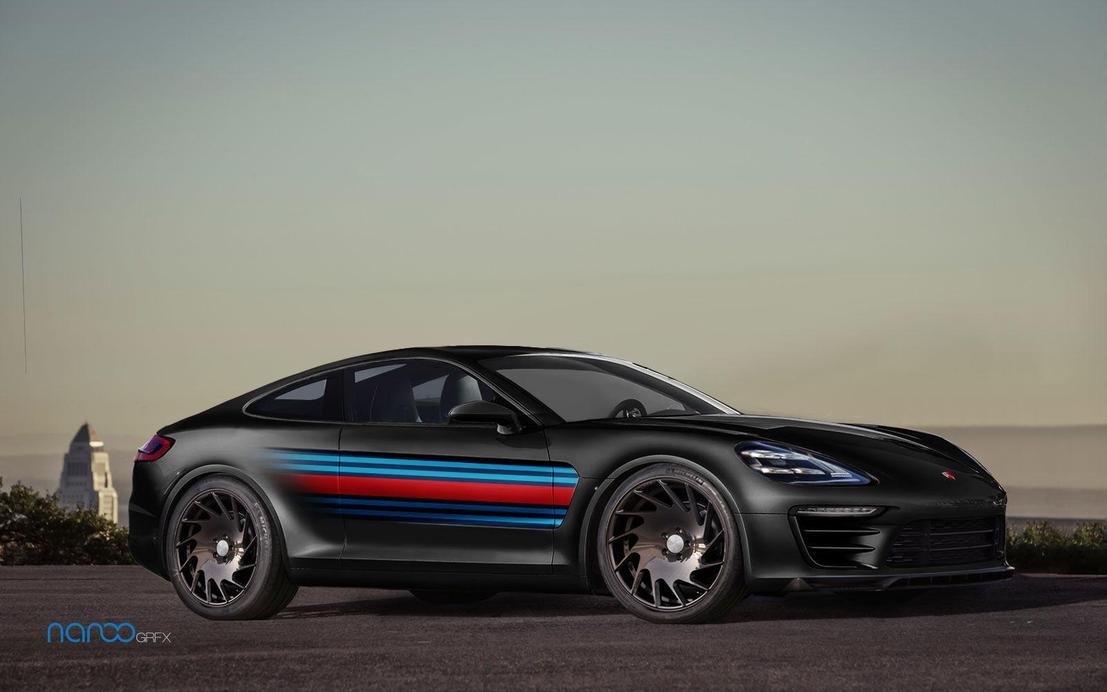 Porsche panamera coupe concept render teamspeed com