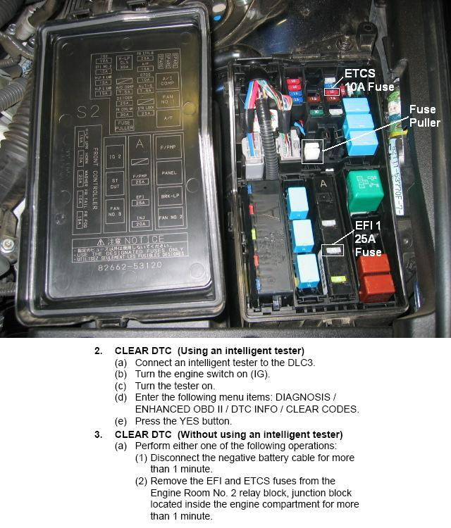 EFI1_ECTS_Fuse_location 27624 lexus how to reset your ecu clublexus 2006 lexus is 250 fuse box diagram at soozxer.org