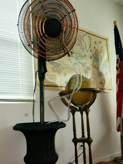 DIY Air Conditioning Fan | DoItYourself com