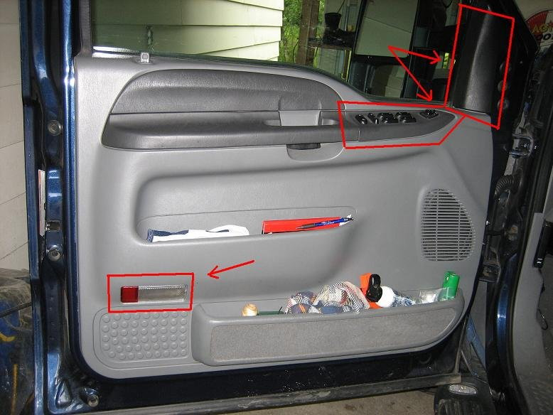 ford f150 replace door window glass how to