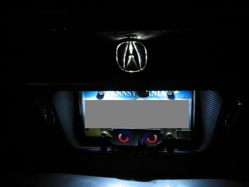 Rear Acura Tl Emblem Ccf D Bd D Af F B C Cf