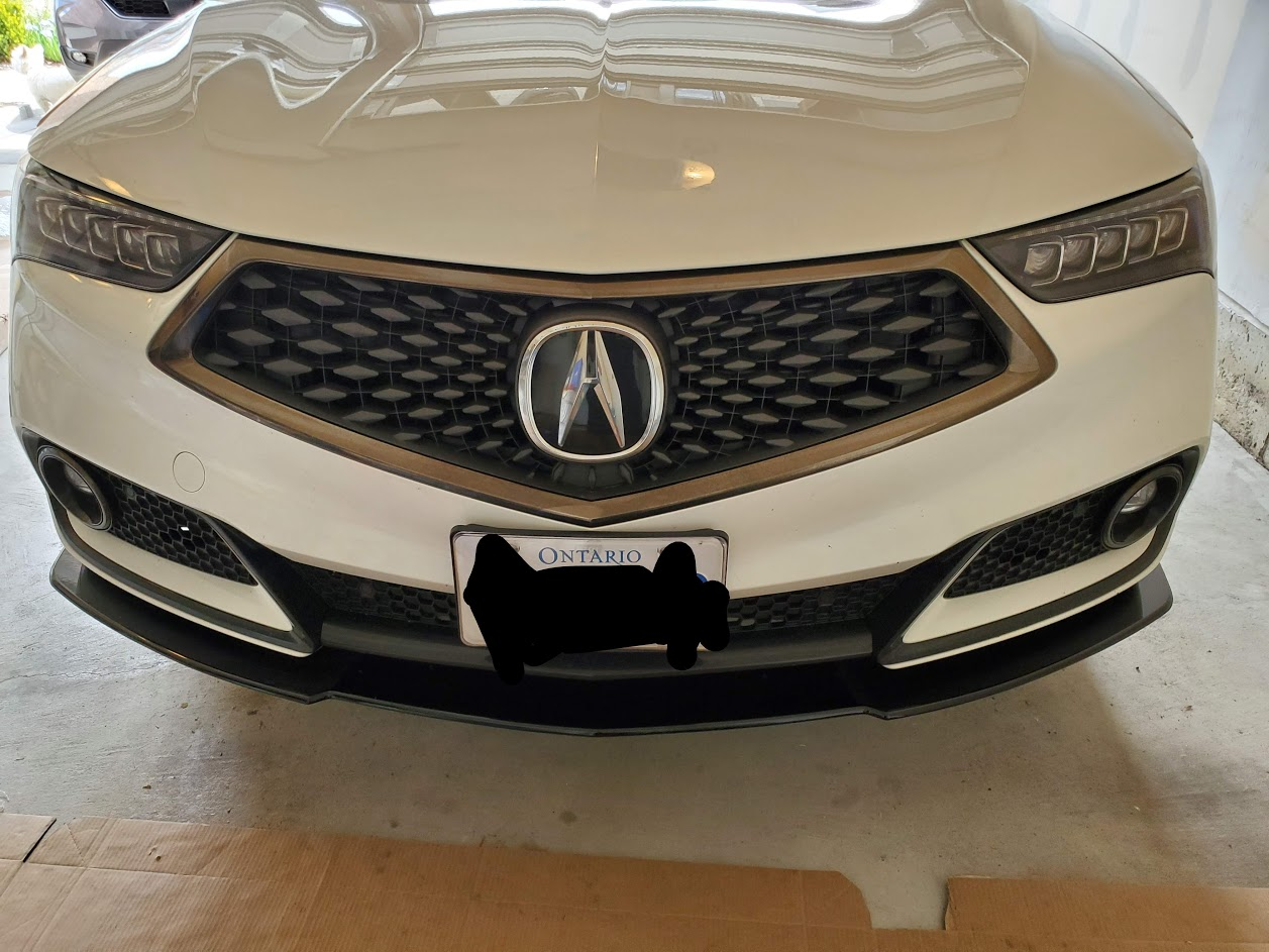 How To Remove Front Bumper On 2018 Acura Tlx A Spec Acurazine Acura Enthusiast Community