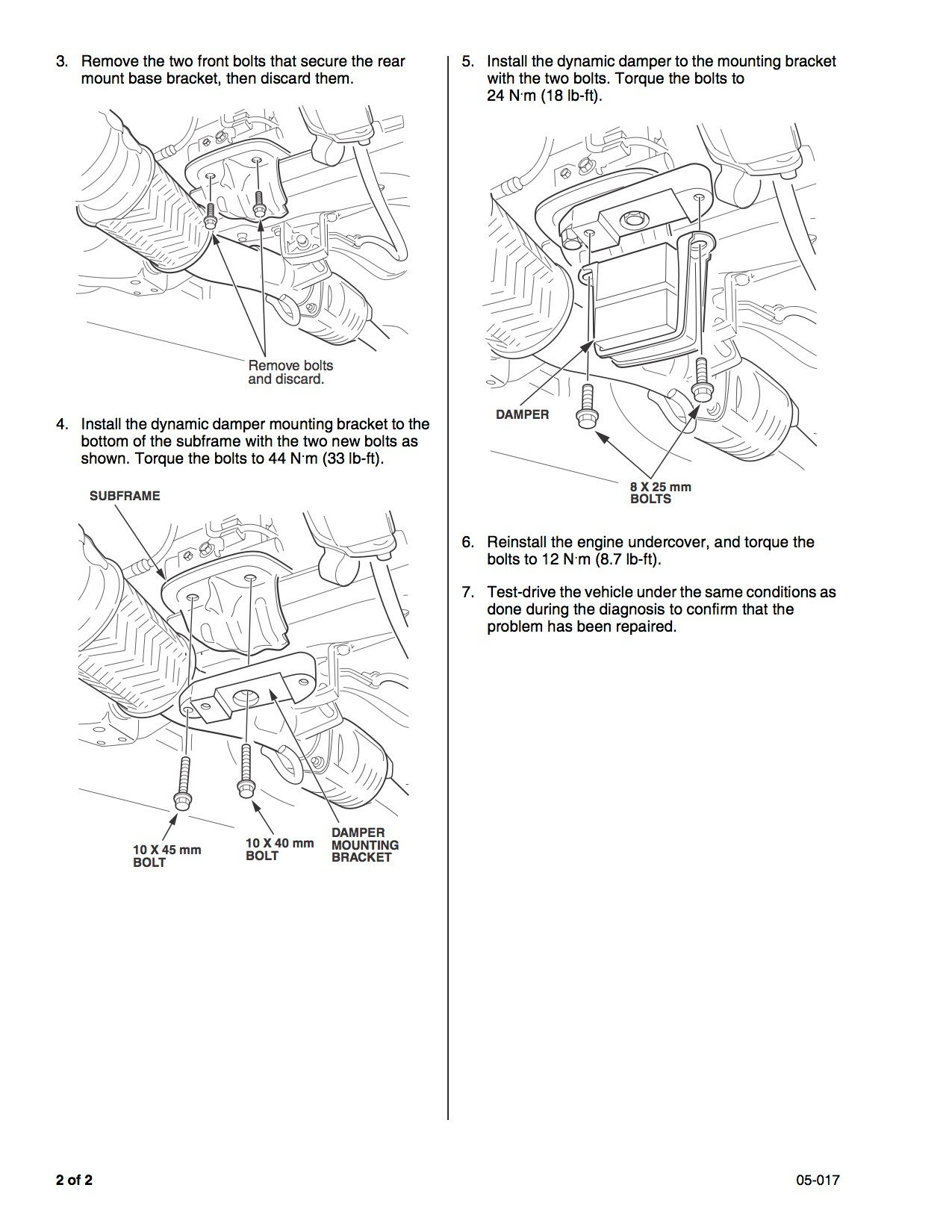 car shaking under specific conditions - page 2
