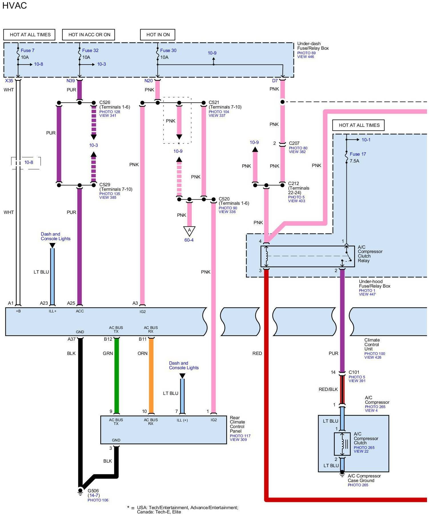 rl: need climate control wiring diagrams for any model - acurazine - acura  enthusiast community  acurazine