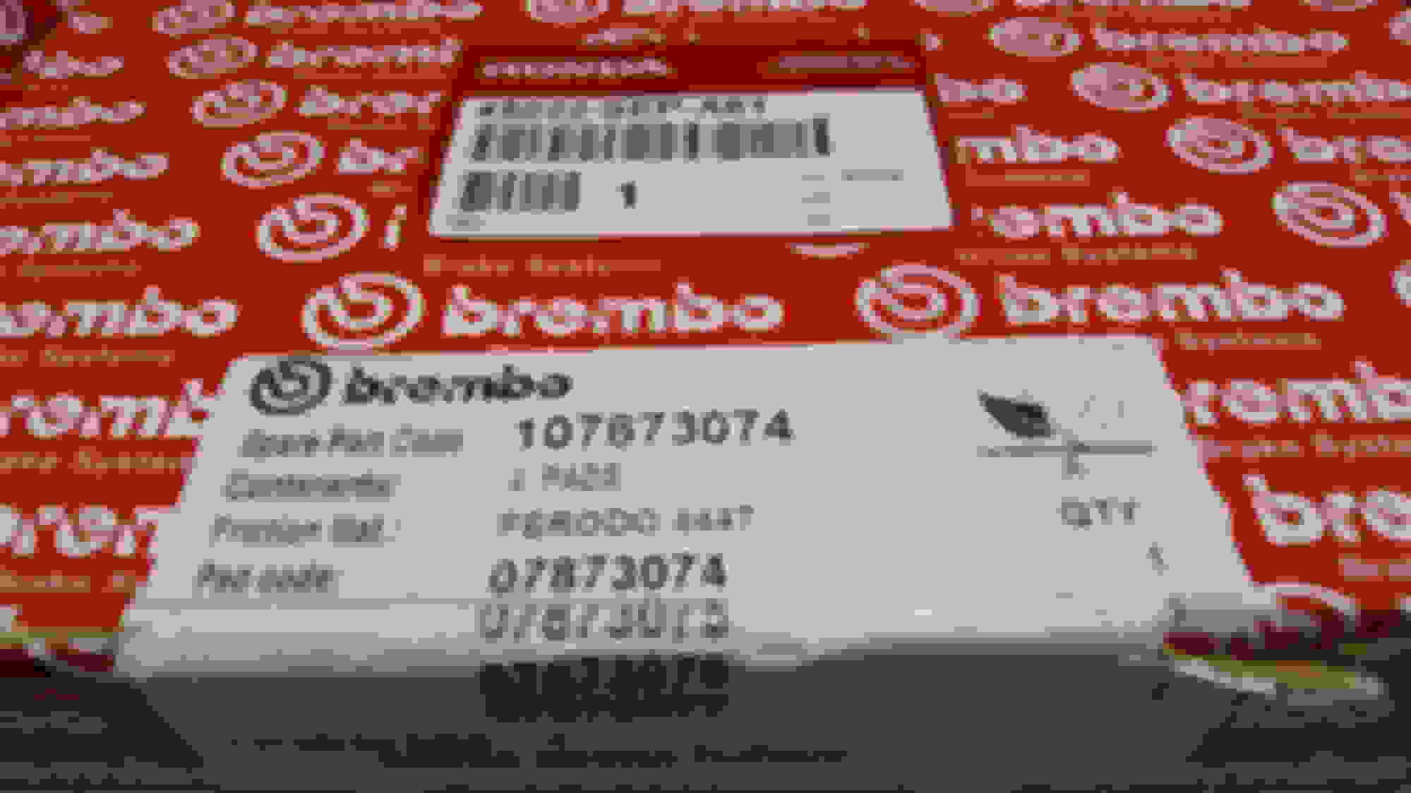 OEM Honda Brembo Pads vs Brembo P28059N Pads - AcuraZine