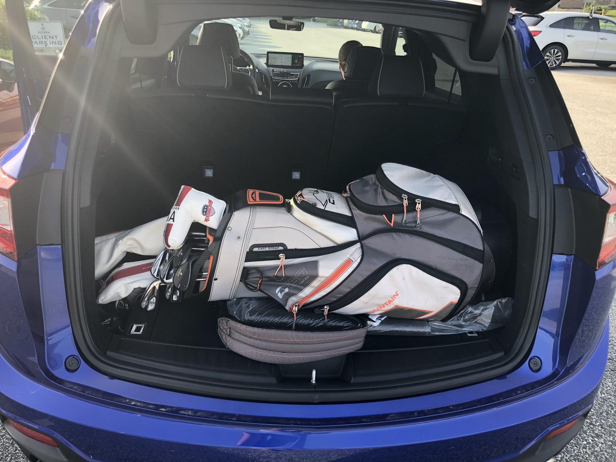 Rear Cargo Golf Clubs AcuraZine Acura Enthusiast Community - Acura golf clubs