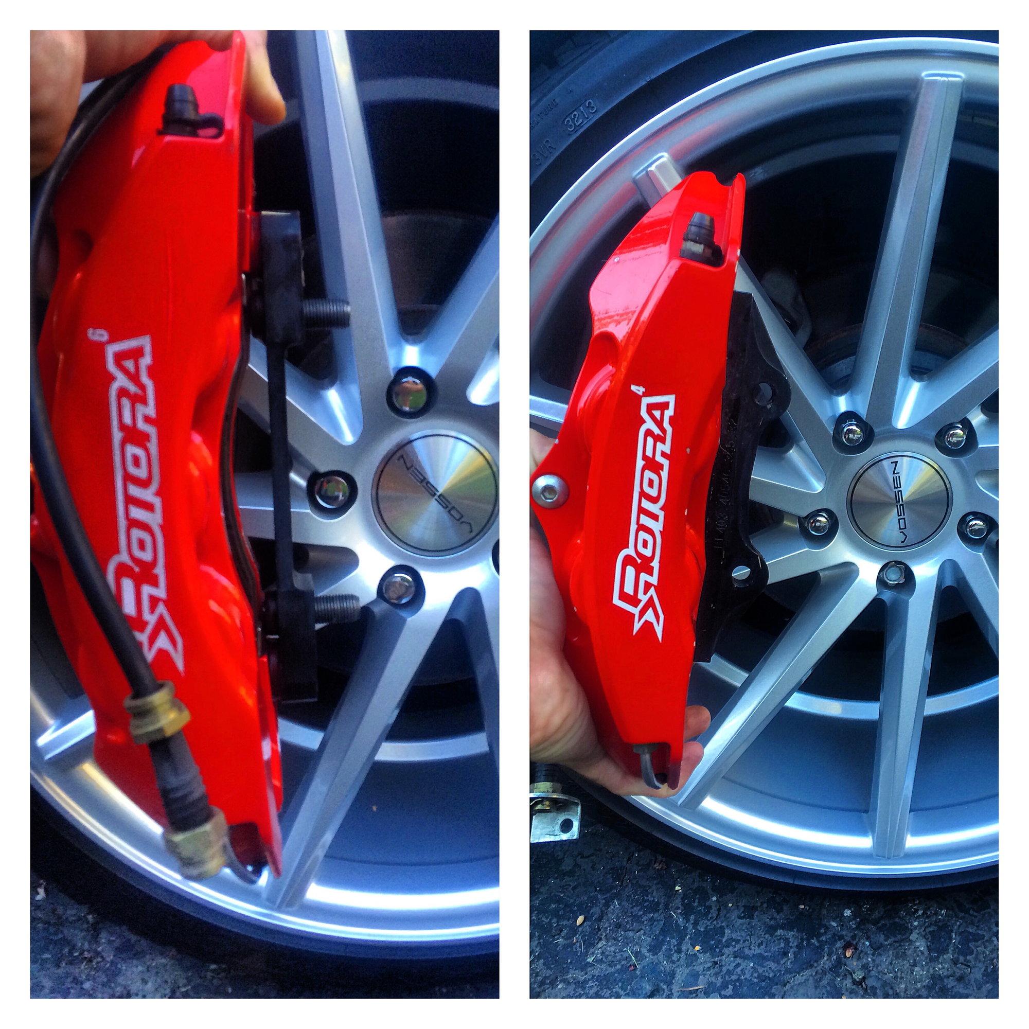 955223 Brake Disc Pair Rear Axle
