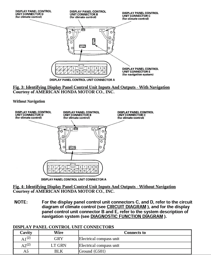 [SCHEMATICS_43NM]  2007-2008 TL factory service manual/electrical wiring manual (HVAC LCD) -  AcuraZine - Acura Enthusiast Community | 2008 Acura Tl Wiring Diagrams |  | AcuraZine